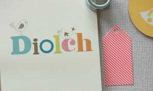 Oh!Susannah Diolch Card