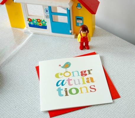 Colourful Congratulations