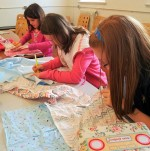 Kids sewing with Oh!Susannah